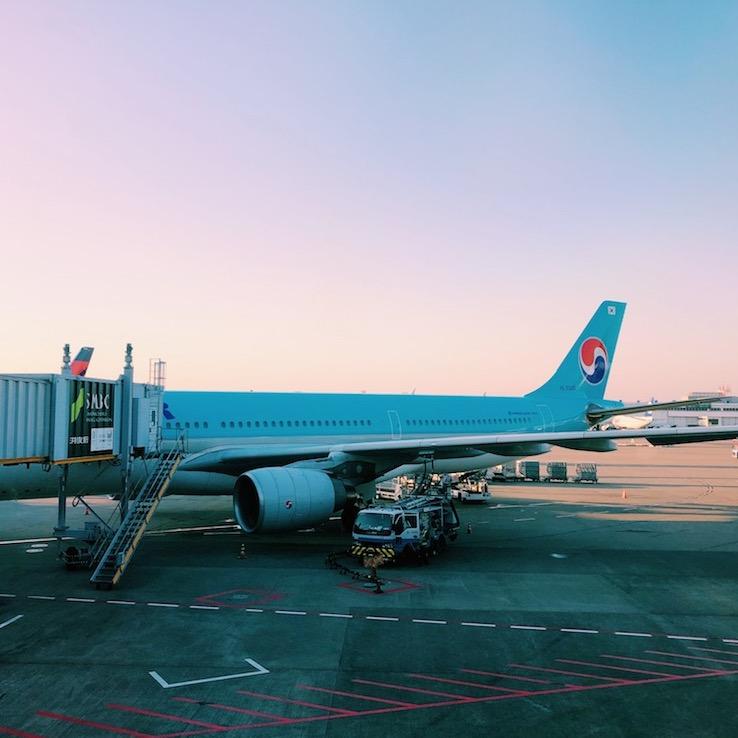 大韓航空-飛行機