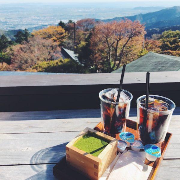 【茶寮 石尊】神社の中にある絶景和カフェ