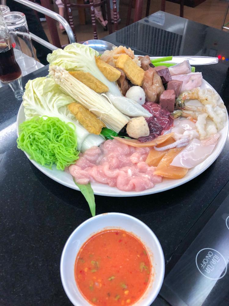 ルアンペットスキ-料理