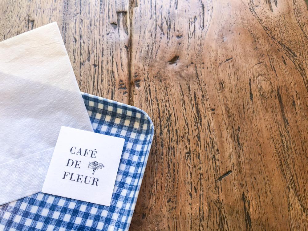 Cafe de Fleur-名刺