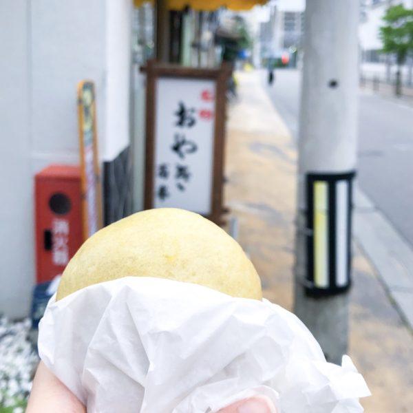 松本の老舗おやき「おやきの高峯」で朝食