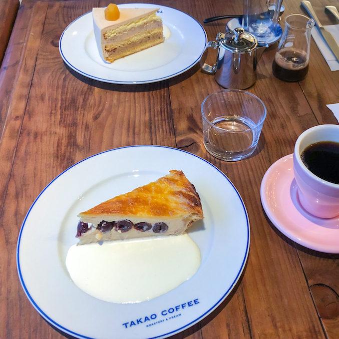 TAKAO COFFEE-ケーキ
