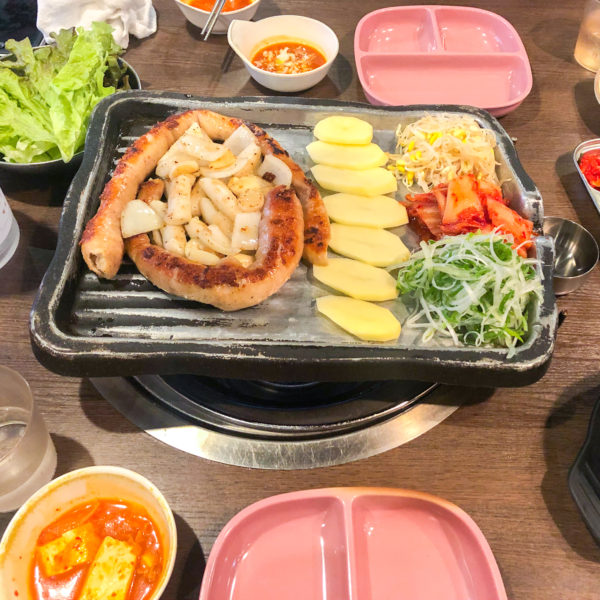 新大久保にあるコスパ最強韓国料理【中央市場(中央シジャン)】