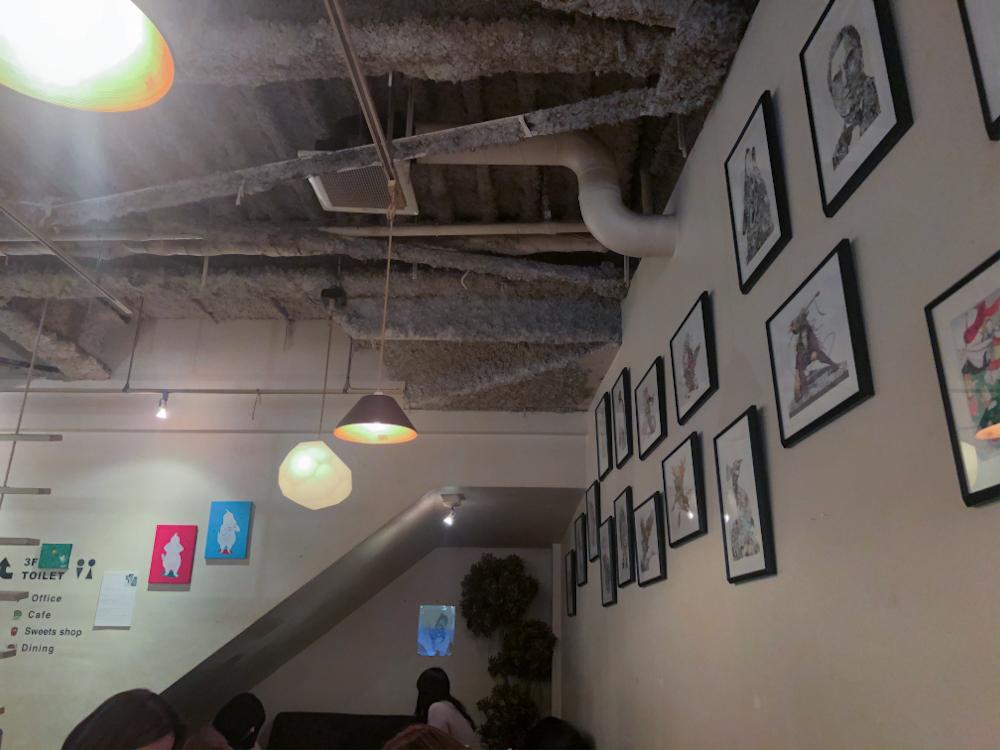 CAFE KATSUO-店内