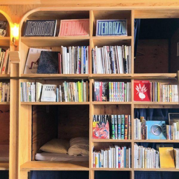 まるで本屋のような【Book and Bed Tokyo】ホステルで一夜漬け